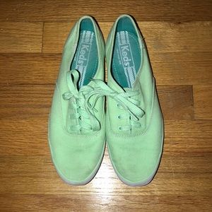 Mint Green Keds Sneakers